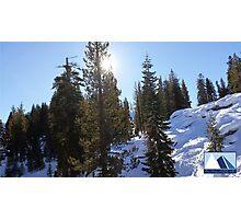 Snowy Scene 5 Photographic Print