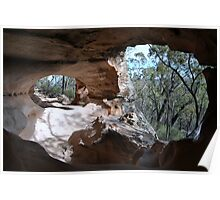 Sandstone Caves Poster