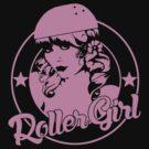 Roller Girl  by LamericaTees