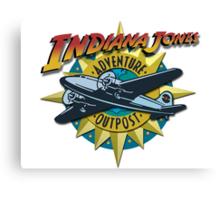 Indiana Jones Adventure Outpost Canvas Print