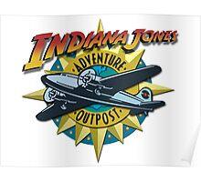 Indiana Jones Adventure Outpost Poster