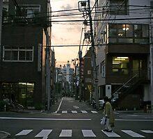 Tokyo twilight by Kyra  Webb