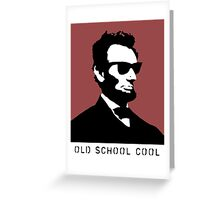 Cool Abe Lincoln - Old School Cool Greeting Card