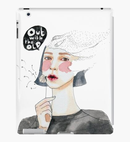 Out with the old iPad Case/Skin