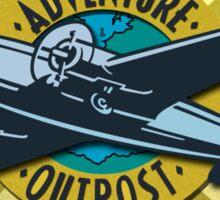 Indiana Jones Adventure Outpost Sticker