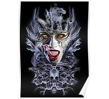 biomechanical vampire woman Poster