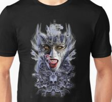 biomechanical vampire woman Unisex T-Shirt