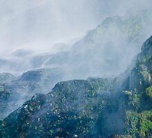 Below Wallace Falls by Tom Vaughan