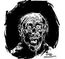 RETURN OF THE LIVING DEAD  TARMAN ZOMBIE by mrbones