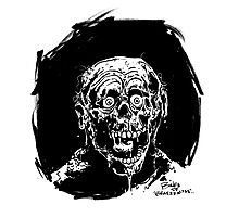 RETURN OF THE LIVING DEAD  TARMAN ZOMBIE Photographic Print