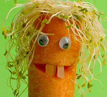 Mr Carrot Head by Elana Bailey