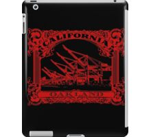 Oakland Classic Red iPad Case/Skin