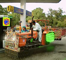 Pakistan State Oxotron Anti-Diesel Station by Kenny Irwin