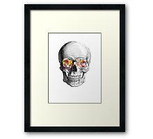Skull Luxe Framed Print
