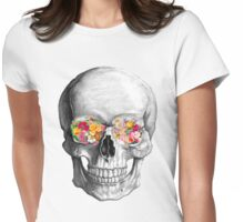 Skull Luxe Womens Fitted T-Shirt