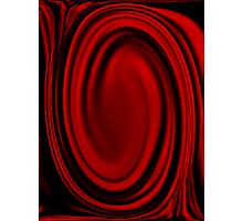 red shroud Photographic Print