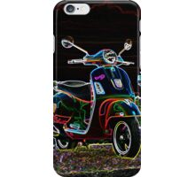 Glowing Vespa iPhone Case/Skin