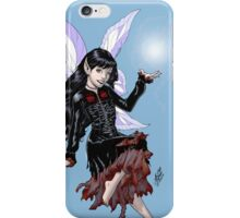 Gothic Fairy with Magic in her hand by Al Rio iPhone Case/Skin
