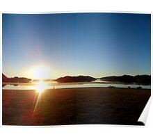 Lake Moondarra Poster