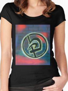 Krav Maga Graffiti Women's Fitted Scoop T-Shirt