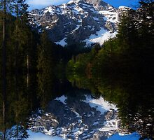 Alpine reflection by dags