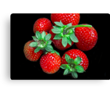 A Few Berries For You! Canvas Print