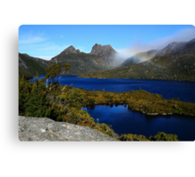 Sapphire Waters of Dove Lake Canvas Print