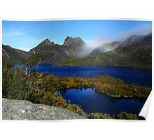 Sapphire Waters of Dove Lake Poster