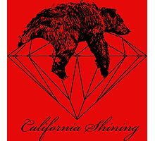 California shining  Photographic Print