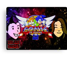 Sonic The Hedgehog 2 - We Are Jacked Canvas Print