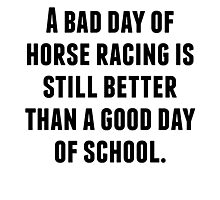 A Bad Day Of Horse Racing Photographic Print