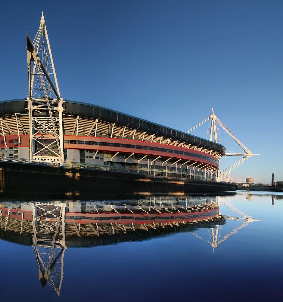 Millennium Stadium, Cardiff, Wales by Anthony Thomas