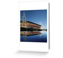 Millennium Stadium, Cardiff, Wales Greeting Card