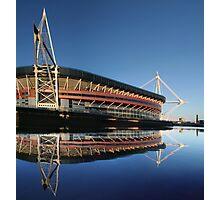 Millennium Stadium, Cardiff, Wales Photographic Print