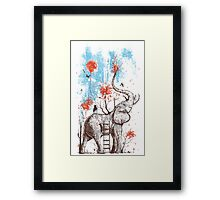 A Happy Place Framed Print