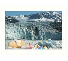 878-Comfy Art Print