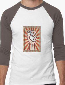 Online Activist Men's Baseball ¾ T-Shirt
