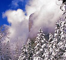 CLEARING STORM,EL CAPITAN by Chuck Wickham