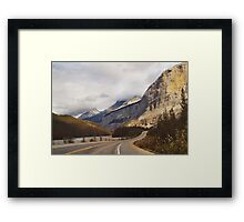 Icefields Parkway Framed Print