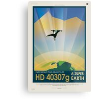 Experience the Gravity of a Super Earth Metal Print