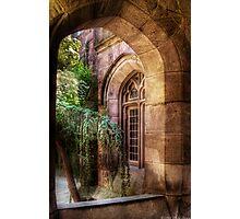 Through a Window Photographic Print