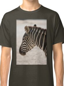 zebra at the zoo Classic T-Shirt
