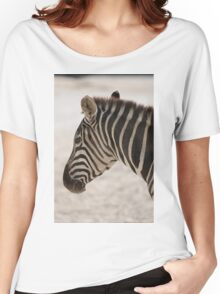 zebra at the zoo Women's Relaxed Fit T-Shirt
