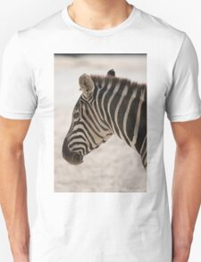 zebra at the zoo Unisex T-Shirt