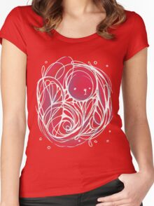 Disco Sketch Women's Fitted Scoop T-Shirt