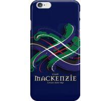 MacKenzie Tartan Twist iPhone Case/Skin