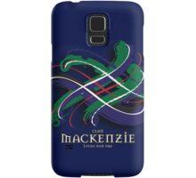 MacKenzie Tartan Twist Samsung Galaxy Case/Skin
