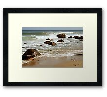 I Must Go Down to the Seas Again... Framed Print
