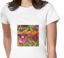 Butterfly's Forest Womens Fitted T-Shirt