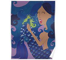 Susanna the Mermaid by JennyA Poster